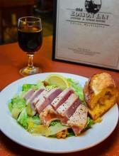 The Old Edison Ahi Tuna Caesar Salad